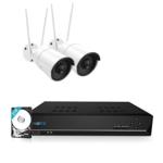 Reolink RLK8-410B2-W 4MP Draadloos Camerasysteem