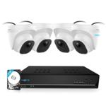 RLK8-520D4 PoE 5MP Camerasysteem