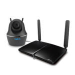 IP Camera 4G Router Zorg 'Altijd Verbonden' Set