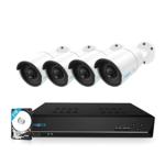 Reolink RLK8-410B4 PoE 5MP Camerasysteem