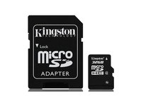 Kingston 32 GB micro SD kaart + adapter