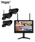 Vegas DCS-5023B HD Draadloos camerasysteem met monitor