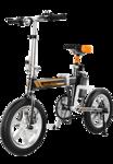 Airwheel R5T Elektrische Vouwfiets Zwart