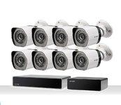 Zmodo ZS-2NL8-W Full HD 1080p sPoE Camerasysteem Wit