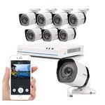Zmodo ZS-1NL8-W sPoE HD Camerasysteem Wit