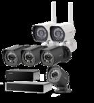 Zmodo ZS-2NL4-B Zwart Wired-Wireless Combi 1TB 2-Pack