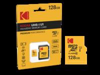 Kodak EMTEC Premium 128 GB micro SD kaart + adapter