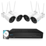 Reolink RLK8-410B4-W 4MP Draadloos Camerasysteem Wit Wit