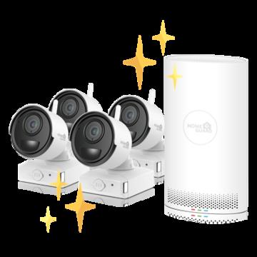 HomeGuard HGNVK-68004: draadloos camerasysteem zonder gedoe