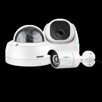 Wat te kiezen: een bullet IP camera, vandal dome IP camera of een turret dome IP camera?