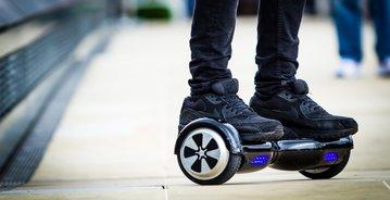 Hoverboard toch op de openbare weg?