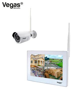 Het Vegas DCS-5031 draadloos camerasystem stap voor stap