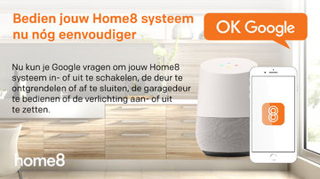 """Home8 App Update v2.8.0: Nieuwe """"S-IoT"""" app en integratie met Google Home"""
