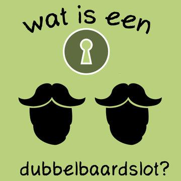 Wat is een dubbelbaardslot?