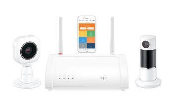 Slim alarmsysteem met camera startpakket: de basisonderdelen