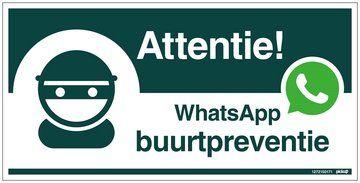 Buurtpreventie via WhatsApp: de spelregels