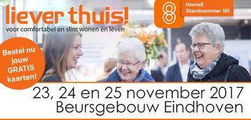 """Bestel GRATIS kaarten voor de """"Liever Thuis!"""" Beurs op 23, 24 en 25 november"""