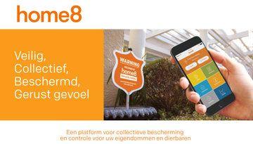Live beeld, Plug & Play en Open Cloud met Home8