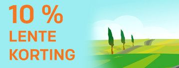 Buitenkansje: profiteer nu van 10 % lente korting op al onze producten