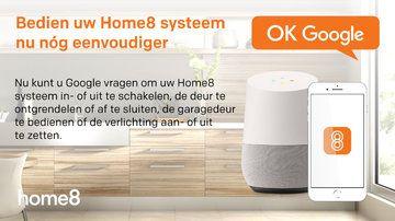 """Home8 app vernieuwd: nieuwe """"S-IoT"""" app en integratie met Google Home"""