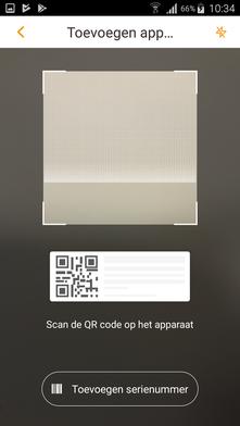 Stappenplan Dahua installatie - Voeg de camera toe in de app