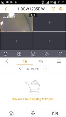 Stappenplan Dahua installatie - Klaar! Camera gereed voor gebruik