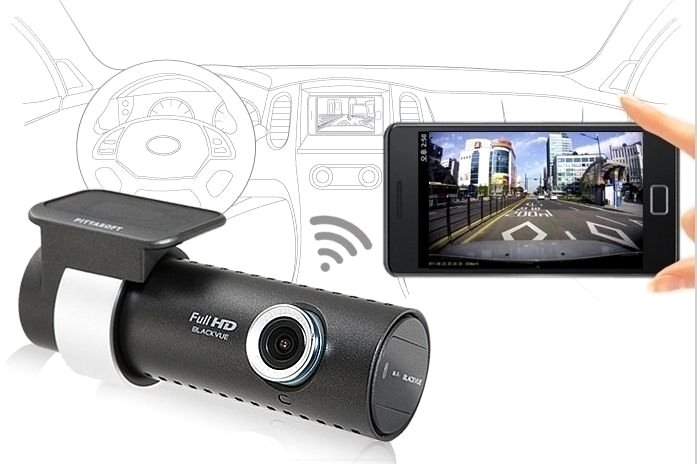Dashcam met WiFi